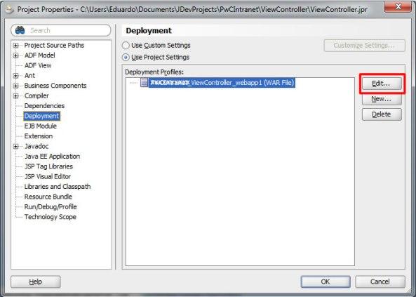Deployment File Name